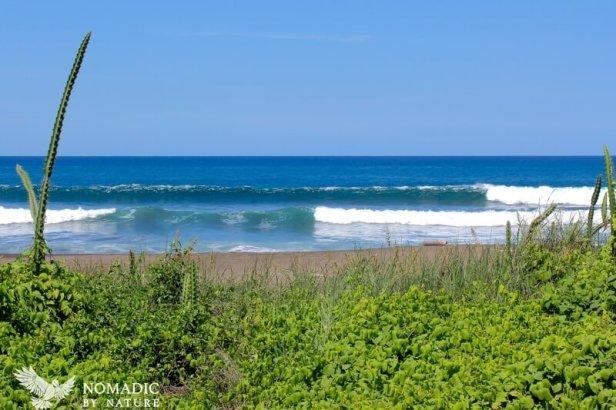Peeling Waves at Punta Indio, Costa Rica