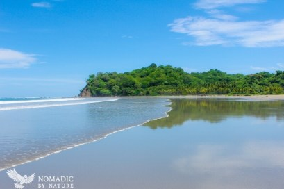 The Mirror Pond of Playa Samara, Costa Rica