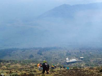 Approaching the Summit, Nyiragongo, Virunga National Park, DR Congo
