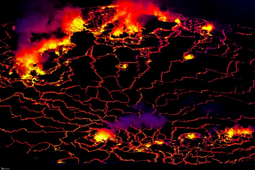 A Fury of Explosions, Nyiragongo, Virunga National Park, DR Congo
