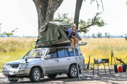 Xakanaka Campsite, Moremi Game Reserve, Botswana
