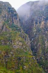 A Huge Slot Canyon in the Rwenzori Mountains