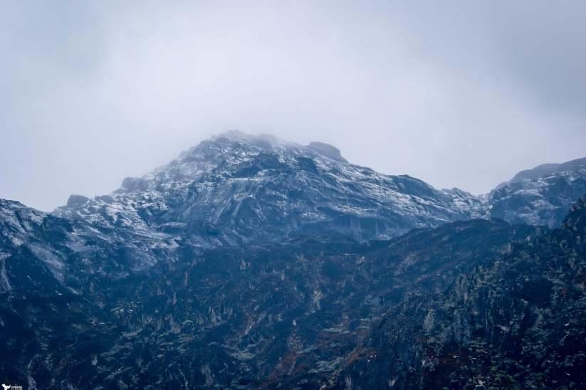 Snow Dusted Weismann's Peak, Mountains of the Moon, Rwenzori