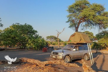 Savuti Campsite, Chobe National Park, Botswana