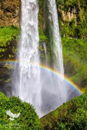 The Rainbows at Ngasire Falls, Sipi Falls, Uganda