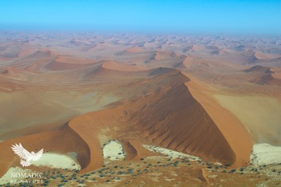 Endless Dunes to the Horizon, Sossusvlei, Namibia