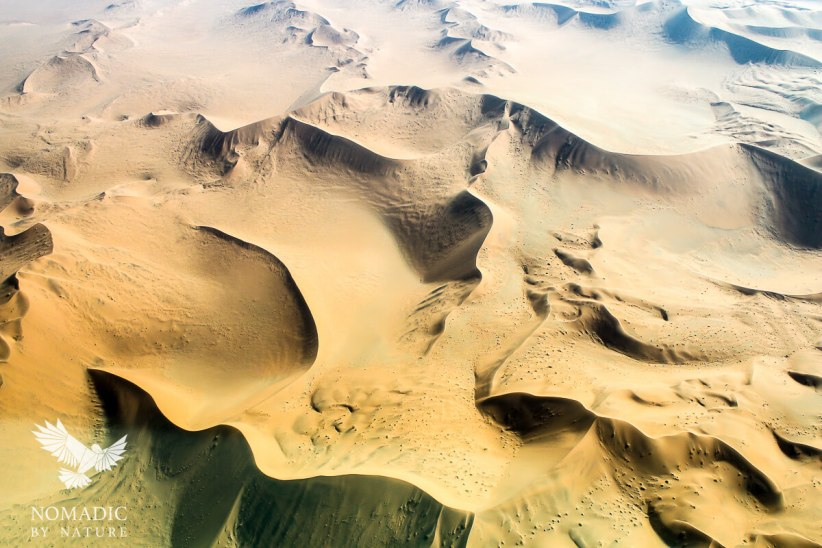 Sand-Skrit from the Sky, Sossusvlei, Namibia