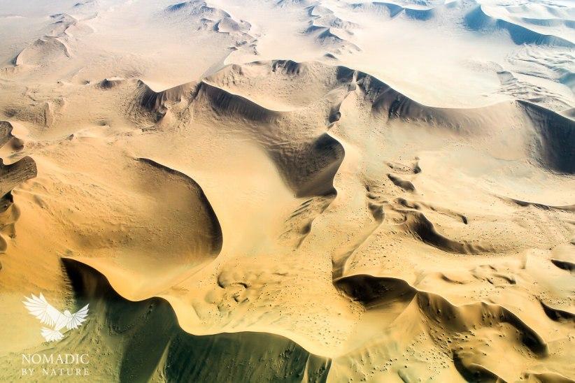 Sand-Skrit from the Sky, Sossusvlei, Namibia