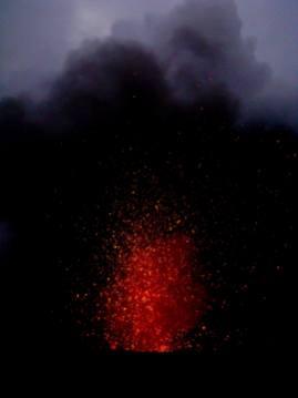 Lava Lights the Night, Tanna Island, Vanuatu