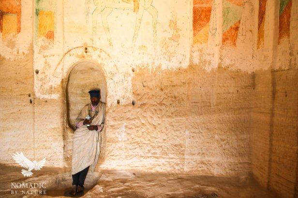 The Priest from the Debra Maryam Qorqor Rock-Hewn Church, Ethiopia