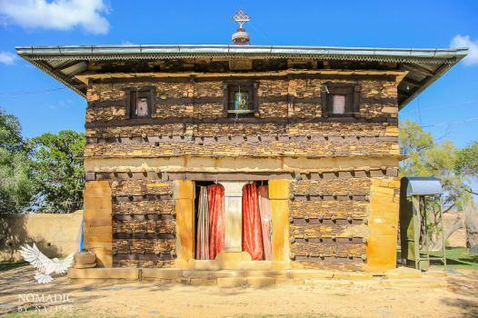 The Monastery at Debre Damo, Ethiopia