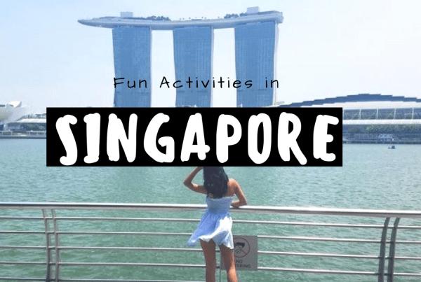 fun activities in Singapore