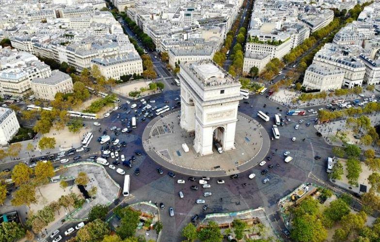 paris france europe itinerary