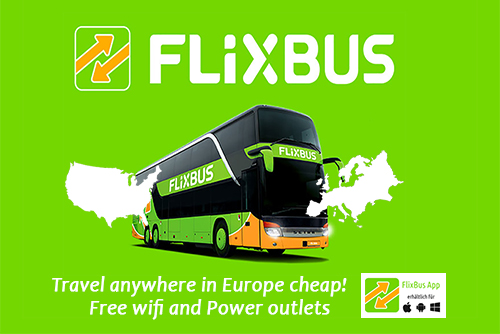 cheap bus tickets europe new