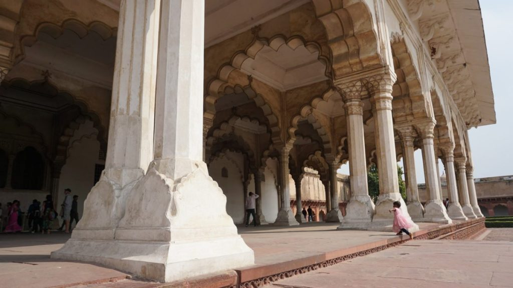 Agra Sightseeing Fort Agra interior