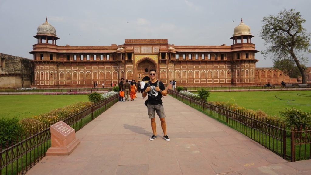 Agra Sightseeing Fort Agra palace