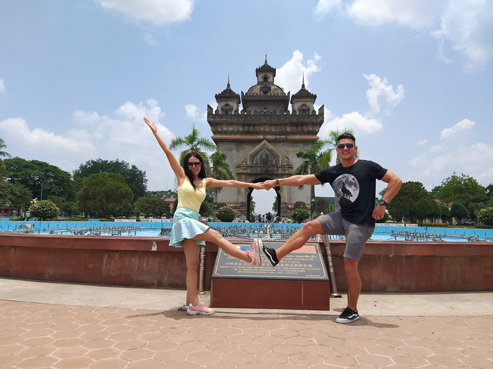 Patuxai Things to do in Vientiane Laos