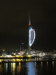 Spinnaker Tower, Portsmouth, England.