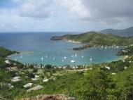 Overlooking English Harbour, Antigua.