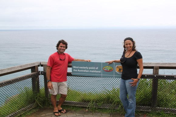 Most Easterly point of Australian Mainland.