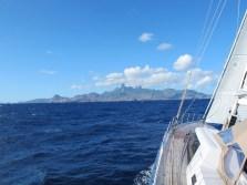 Sailing to Ua Pou