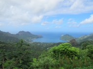 The Marquesas - Overlooking Taihoa