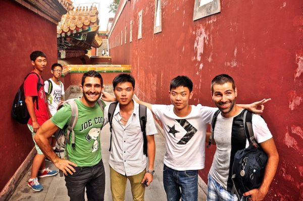 Image result for chinese taking selfies foreigners
