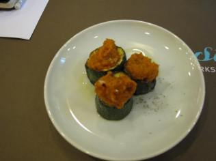 Roasted Courgette with Romesco Sauce