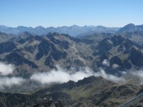 View from atop Pic du Midi
