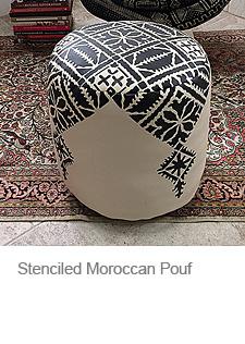 DIY Moroccan Pouf