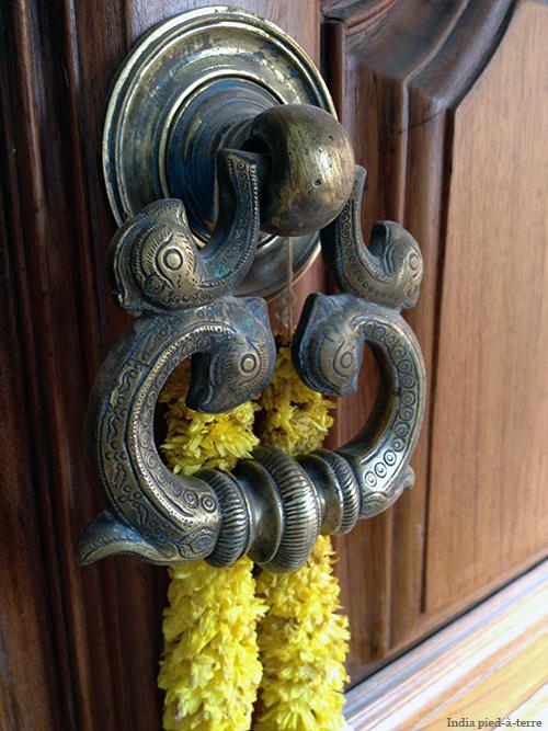 Doorknocker on South Indian Main Door