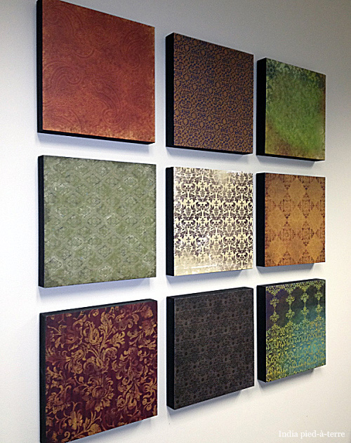 Scrapbook Paper DIY Crafts