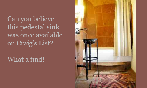 Pedestal-Sink-Santa-Fe-Craigs-List
