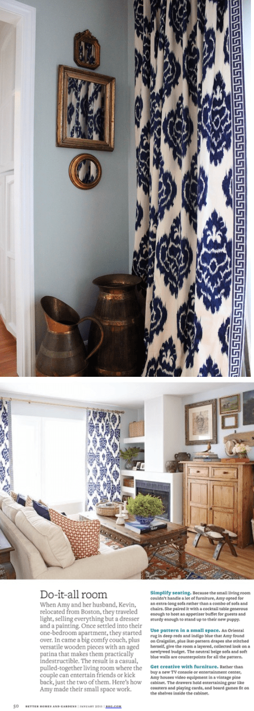 Color Post Navy But Not Conservative Nomadic Decorator