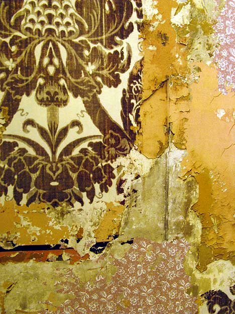 Wallpaper Layer Textile by Gina Pierce