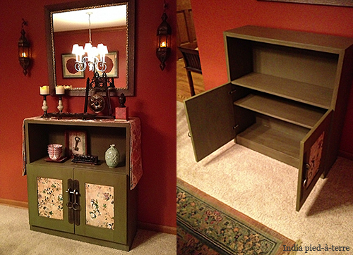 DIY Antique Chinese Cabinet After