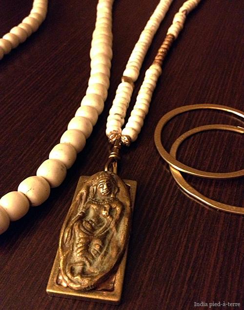 India Goddess Amulet Necklace