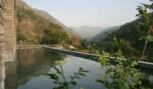 Uttarakhand Villa Pool via Saffronart Prime Properties