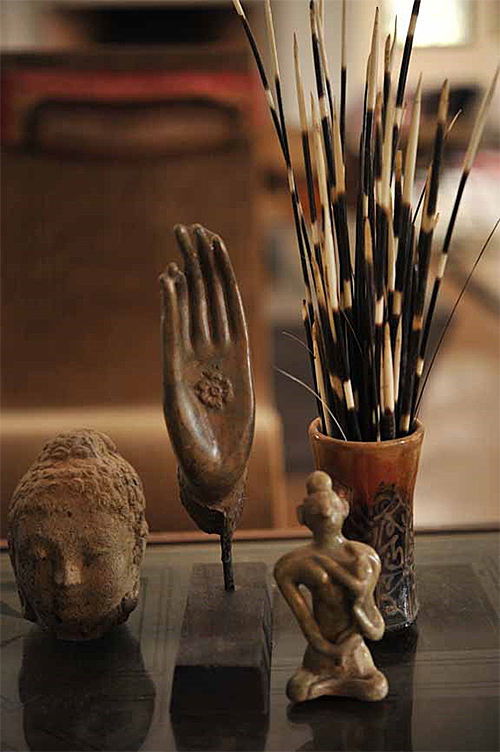 Porcupine Quill Display from My Marrakesh Blog