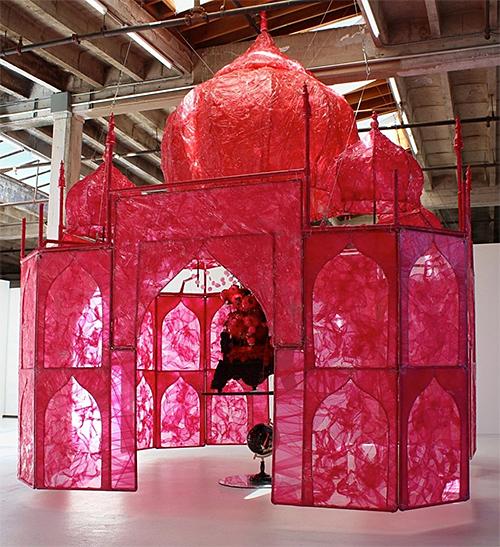 Big Hot Pink Temple