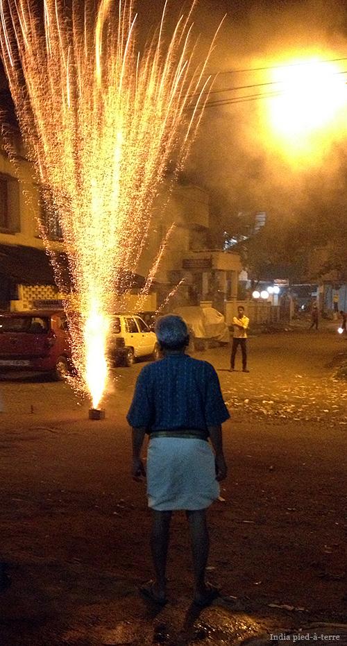 Diwali Fireworks in India