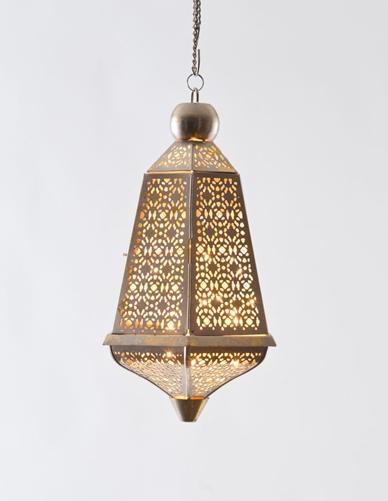 Jaali Lantern from Good Earth India