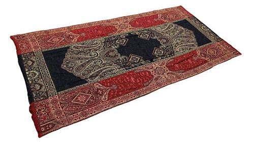 Maroon Kashmiri Shawl from eBay seller indianbeautiful art