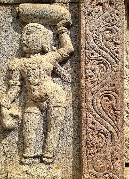 Stone Temple Carvings Carvings Bhoga Nandeeshwara