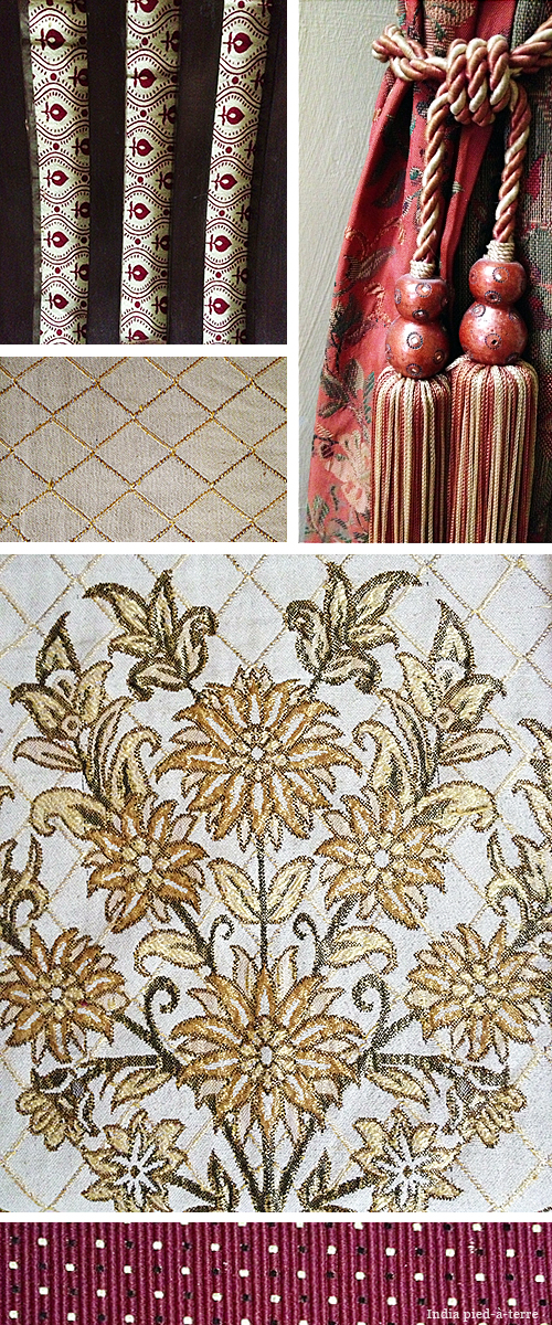 Textiles in South India Home