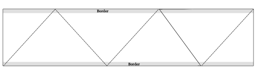 Diagram for Making Sari Fabric Christmas Tree Skirt