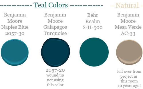 This Was My Original Plan But I Didnt Use One Of The Colors What Happened Is Benjamin Moore Were Less Green Blue Than Expected