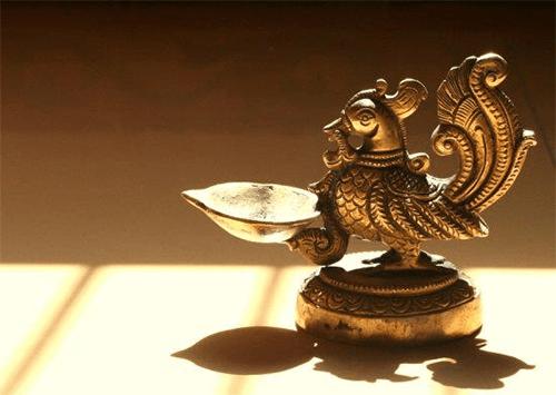 Annapakshi Brass Lamp