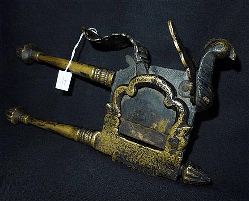 Antique Bronze Betel Nut Cutter