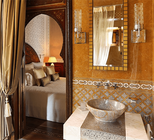 Royal Mansour Bathroom Tile
